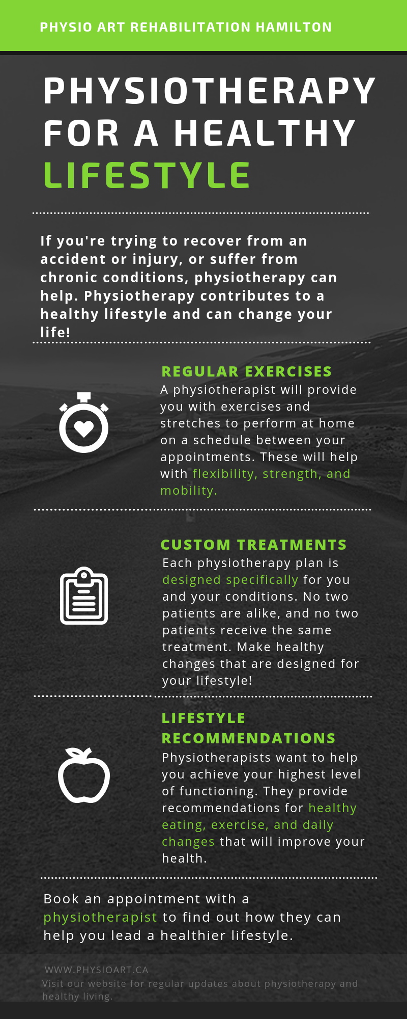 Physiotherapy for a healthy lifestyle